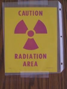 (From my hospital door during I-131 treatment in August 2005. I was given 100 millicuries of radioactive iodine.
