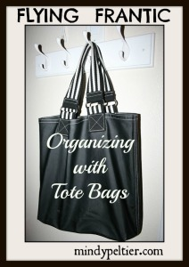 FF black tote bag large PM