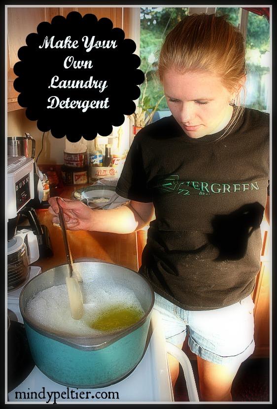 Laundry Schmaundry Homemade Laundry Detergent Mindy