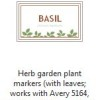 herb garden labels