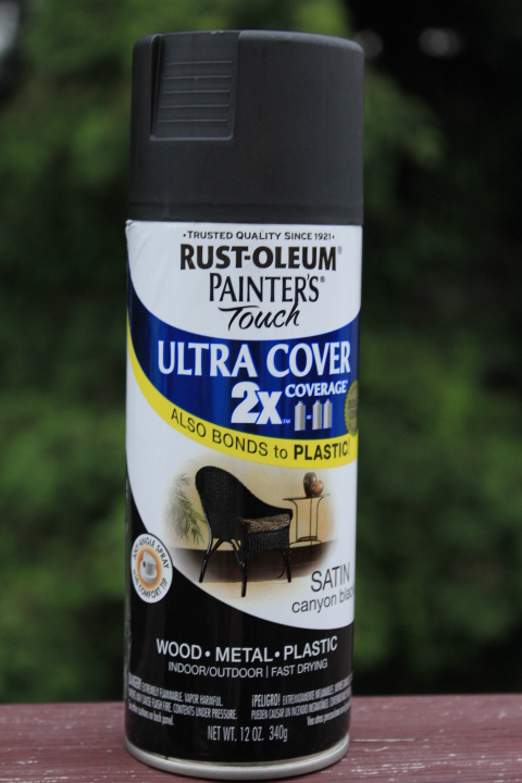 add one can of this very nice spray paint to make the box black. Black Bedroom Furniture Sets. Home Design Ideas
