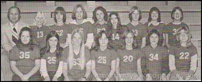 Helena Junior High 7th grade Basketball Team