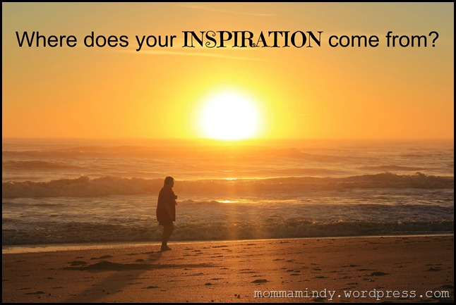 Inspiration with person