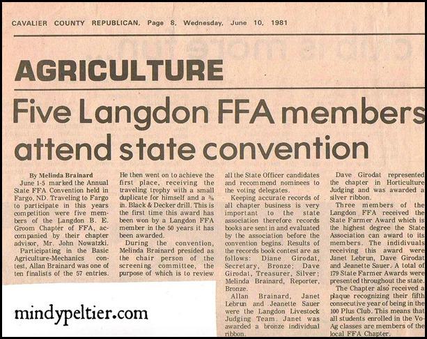 FFA News pm  6-24-81