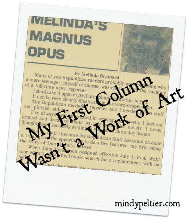 Melinda Brainard's column Cavalier County Republican
