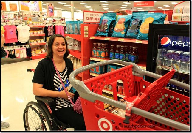 Kendra at Target pm