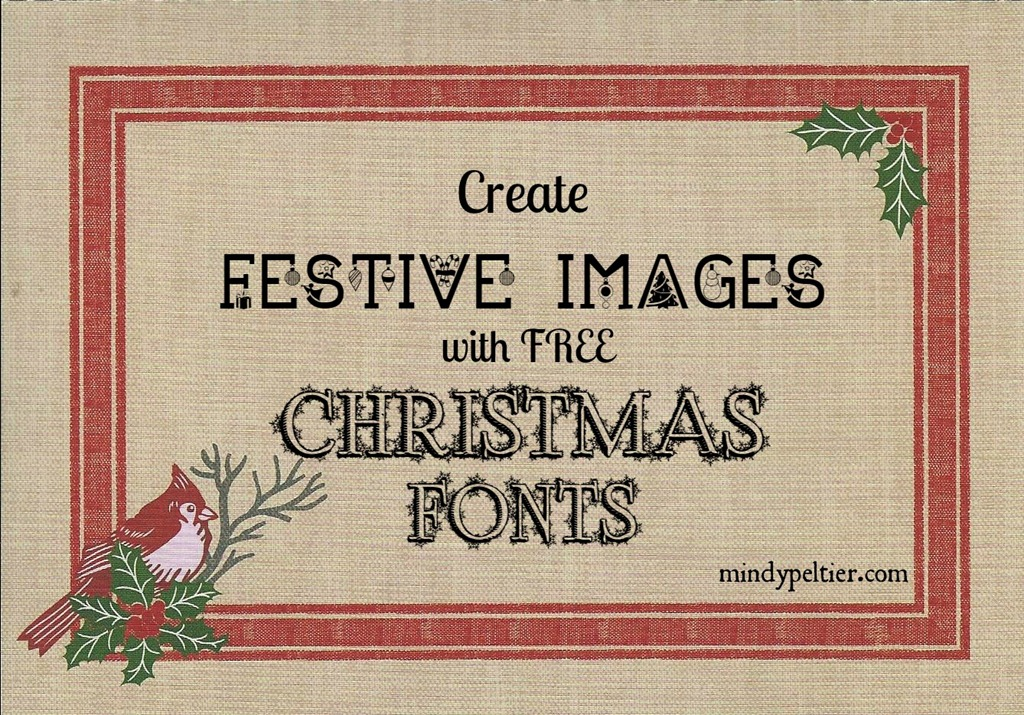 create festive images with free christmas fonts - Christmas Fonts Free