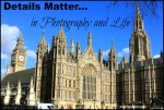 Details Matter in Photographyt and Life @MindyJPeltier in London