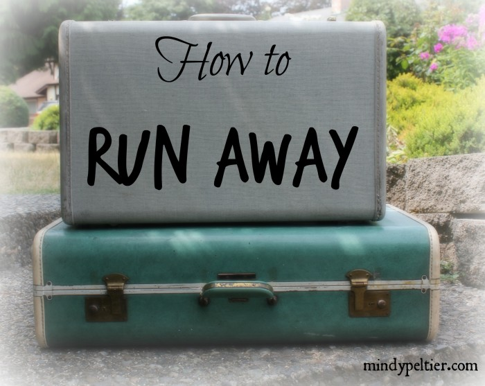 Don't run away from your problems, run away with your problems into the arms of Jesus. @MindyJPeltier