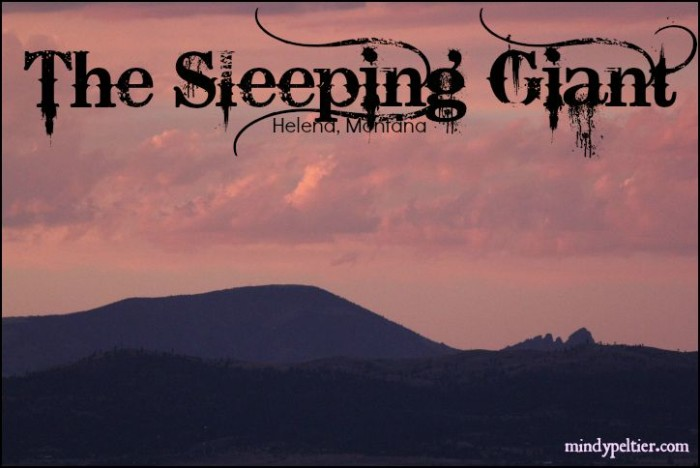 Sleeping Giant sunset