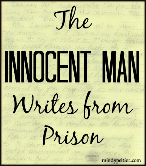 The Innocent Man has a free soul though behind bars.
