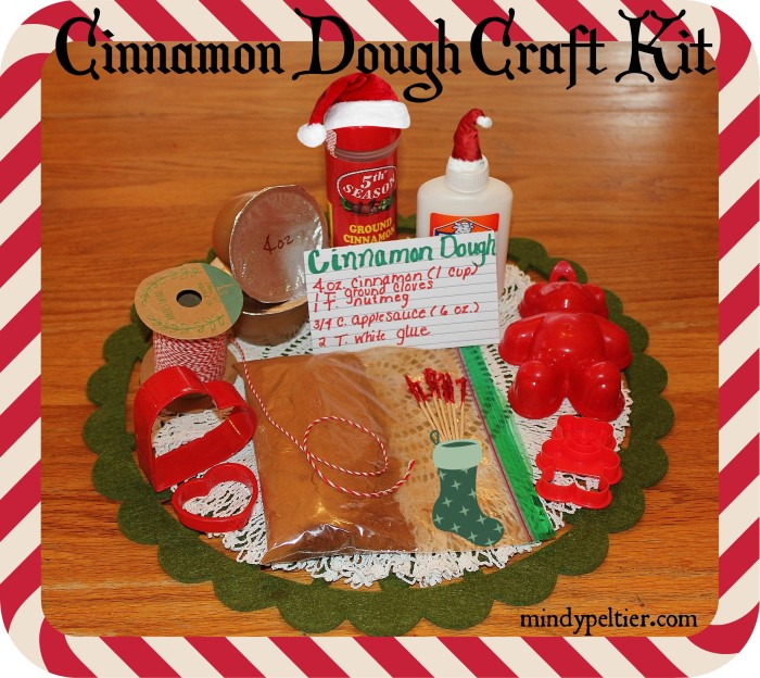 Cinnamon Dough Craft Kit - give the gift of crafting this Christmas. Busy moms of little ones would love this! @MindyJPeltier