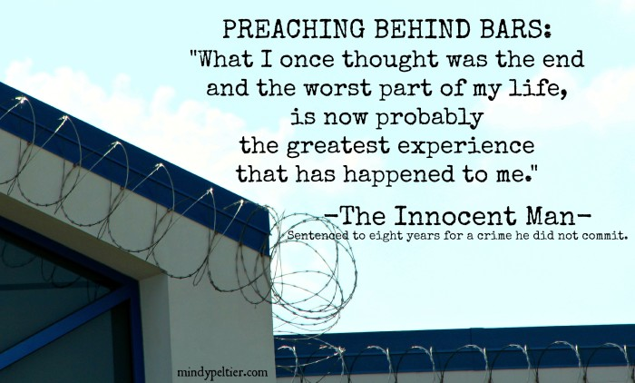 """The Innocent Man calls his wrongful imprisonment the """"greatest experience."""""""