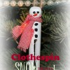 Let it Clothespin Snowman! @MindyJPeltier