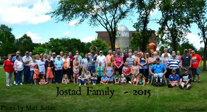 Jostad Family Reunion 2015