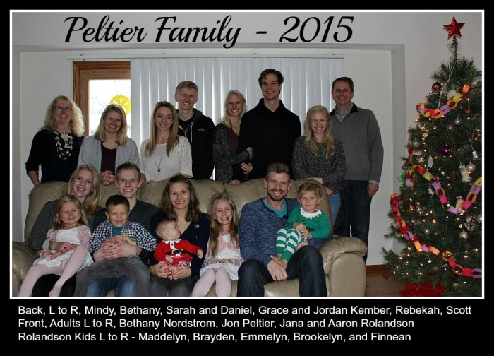 Peltier Family 2015 @MindyJPeltier