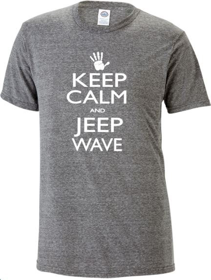 Keep Calm and Jeep Wave