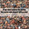 Lake Superior rocks praising Jesus @MindyJPeltier