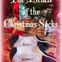 Miracle of the Christmas Socks @MindyJPeltier