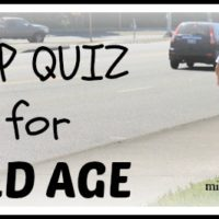 Pop Quiz for Old Age @MindyJPeltier